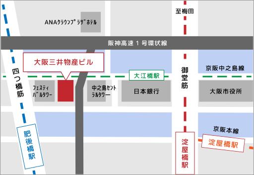 海鴎株式会社アクセスマップ